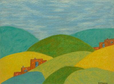 Emil Bisttram, 'Adobe Hill', 1937