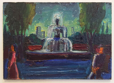 Carlos Almaraz, 'City Fountain', 1987