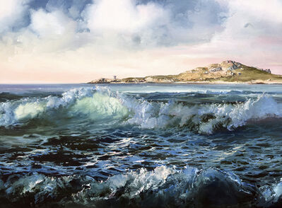 Eileen Meagher, 'High Tide, Burrow Beach', 2020