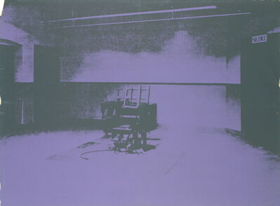 Andy Warhol, 'Electric Chair-Sunday B Morning', 1971