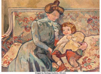 Louis Valtat, 'Mère et enfant', 1910