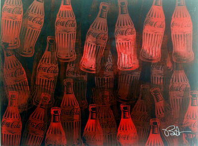 Burton Morris, 'Coca-Cola 40', 2015