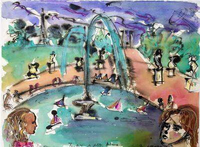 Norma de Saint Picman, 'Souvenirs de Paris - L'enfance, Jardin de Luxembourg', 2003
