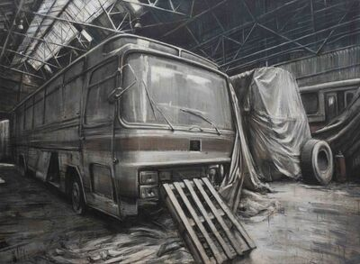 "Valerio D'Ospina, '""Abandoned Buses""', 2010"
