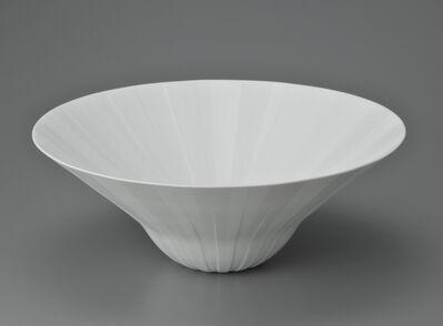 Shomura Hisaki, 'White luscious bowl', 2012