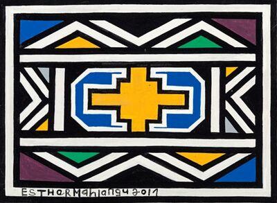 Esther Mahlangu, 'Ndebele Abstract', 2017