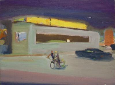 Stephen Lack, 'Outside the diner', 2016