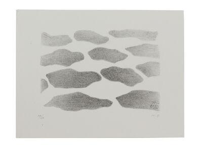 Meret Oppenheim, 'Wolkenfeld', 1966
