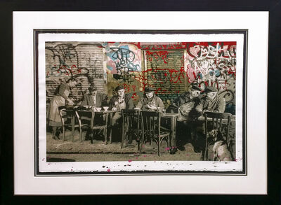 Mr. Brainwash, 'LE BISTRO', 2008