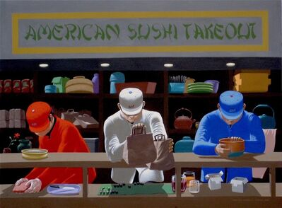 Leonard Everett Fisher, 'American Sushi Take Out', 2019