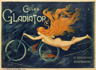 Anonymous, 'Cycles Gladiator - Bicycle ', 1900