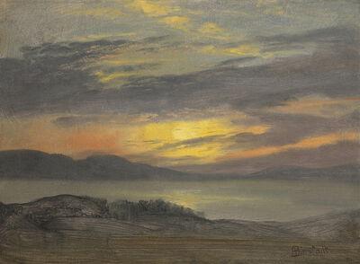 Albert Bierstadt, 'Sunset', Date Unknown
