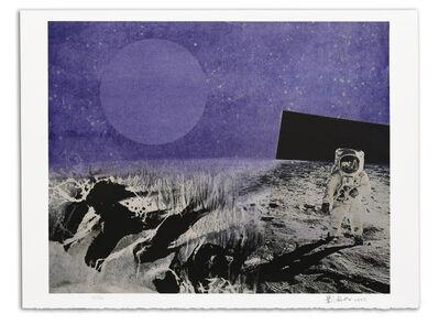 Liu Kuo-sung 刘国松, '月球漫步', 1999