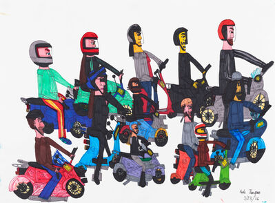 Kate Thompson, 'Untitled (Scooters)', 2016