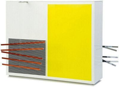 Jesús Rafael Soto, 'Multiple I a double sided (Yellow/Cobalt)', 1969