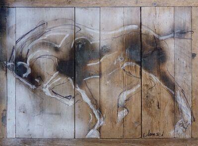 Heather Jansch, 'Equus Wood Drawing', 2016