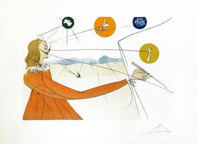 Salvador Dalí, 'DALINEAN PROPHECY', 1974