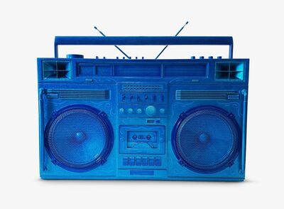 Lyle Owerko, 'Blue Boombox Sculpture ', 2019
