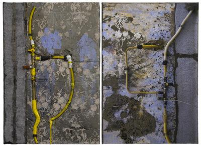 Naomi Safran-Hon, ' Wadi Salib: Yellow Pipes', 2015