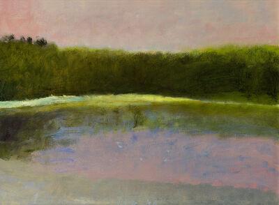Wolf Kahn, 'Dawn at South Pond', 1983