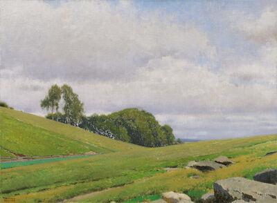Ferdinand Brunner, 'From the parish garden in Aflenz', 1937