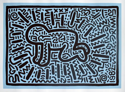 Keith Haring, 'Radiant Baby', 1982