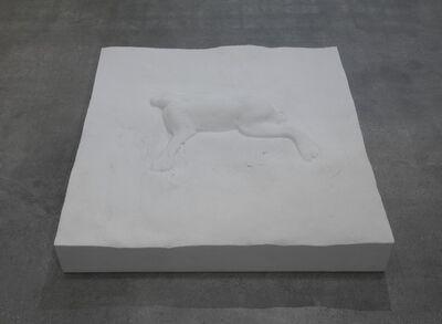 Mario Dellavedova, 'Lepre e manto di neve', 2014