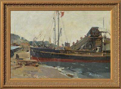 Fedor Zakharov, 'In Yalta Harbour', 1955