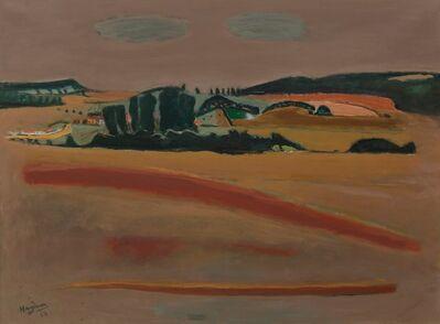 Henri Hayden, 'Vue sur Courtavon', 1963