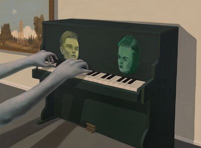 Lola Gil, 'Little Green Piano', 2017