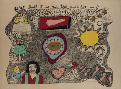 Niki de Saint Phalle, 'What shall I do now that you've left me ?', 1970