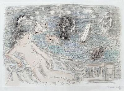 Raoul Dufy, 'Balcon Sur La Mer (Baigneuse aux Papillons) ', ca. 1925