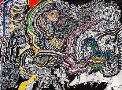 Luis Felipe Noe, 'Ante el misterio', 2015