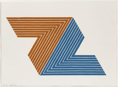 Frank Stella, 'Itata', 1968