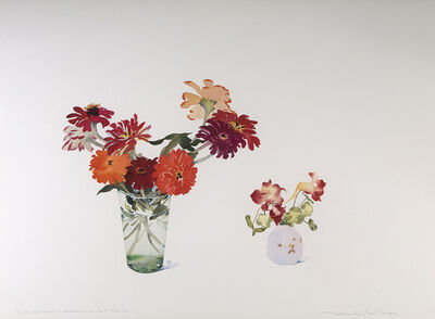Susan Headley Van Campen, 'Zinnias and Nasturtiums, Late Summer', 2018-2019