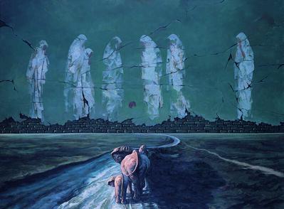 ZHANG LINHAI, 'Sandbox', 2012