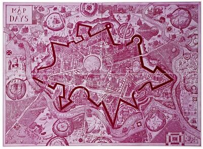 Grayson Perry, 'A Map of Days', 2013