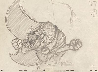 Walt Disney Studios, 'Walt Disney Production Drawing from Beauty and the Beast', 1991