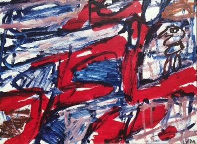 Jean Dubuffet, 'Site Avec Un Personnage ', 1982