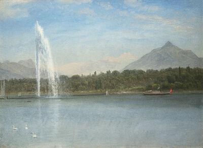 Albert Bierstadt, 'Swiss Scene', Date unknown.