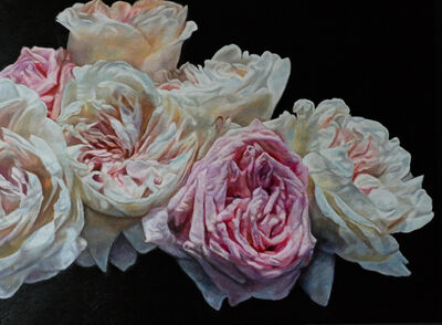 Robert Lemay, 'Pink and Pale Roses', 2020