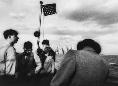 William Klein, 'Staten Island Ferry, New York', 1955