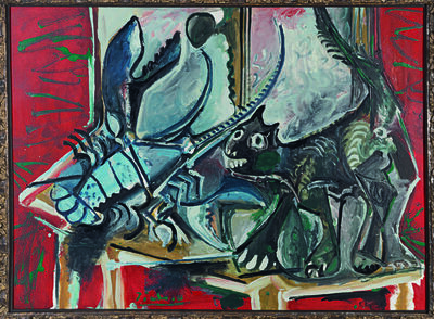 Pablo Picasso, 'Chat et homard (Cat and Lobster)', 1965