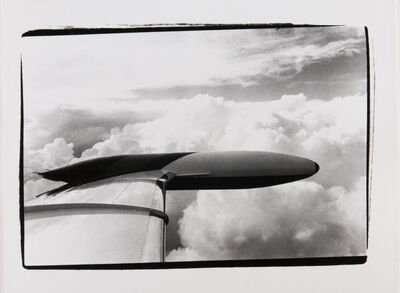 Andy Warhol, 'Andy Warhol, Photograph of the Wing of a Plane en Route to Aspen, 1980s', 1980s