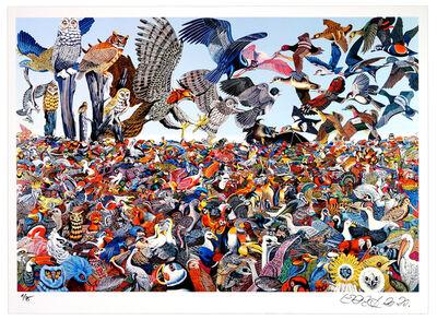 Erró, 'Bird Landscape', 2020