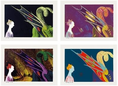 Andy Warhol, 'Details of Renaissance Paintings (Paolo Uccello, St. George and the Dragon)', 1984