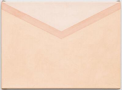 "Tessa Perutz, '""Peach Envelope""', 2015"