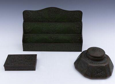 Tiffany Studios, 'Zodiac desk set (10 pieces)'