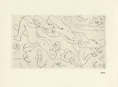 Henri Matisse, 'Untitled (Nude Study for Poesies)', 1987