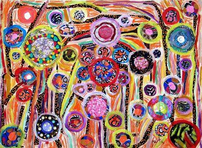 Pacita Abad, 'Polka dots stripes', 2003